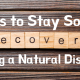 Stay Sober During Natural Disaster